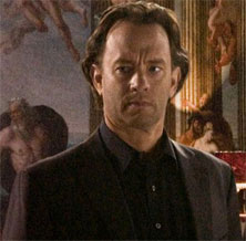Langdon interpretado por Tom hanks