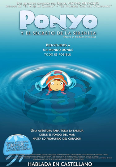 Hoy 23/7 se estrena Ponyo en Argentina! Ponyo