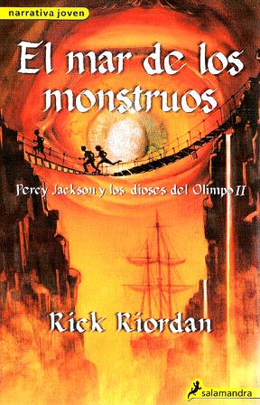Percy Jackson y los Dioses del Olimpo de Rick Riordan Percy-Jackson-II-el-Mar-de-los-Monstruos