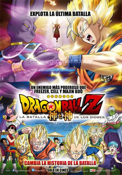 Dragon Ball Z Battle of Gods 2013